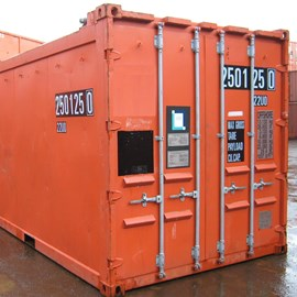 20' Used DNV 2.7-1 Open Top Offshore Container