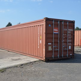 40' Used Open Top Container