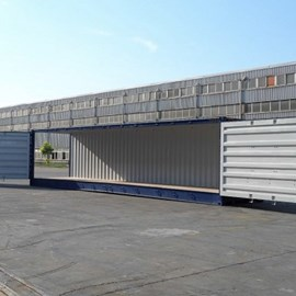 40' Newbuild Full Side Access Container