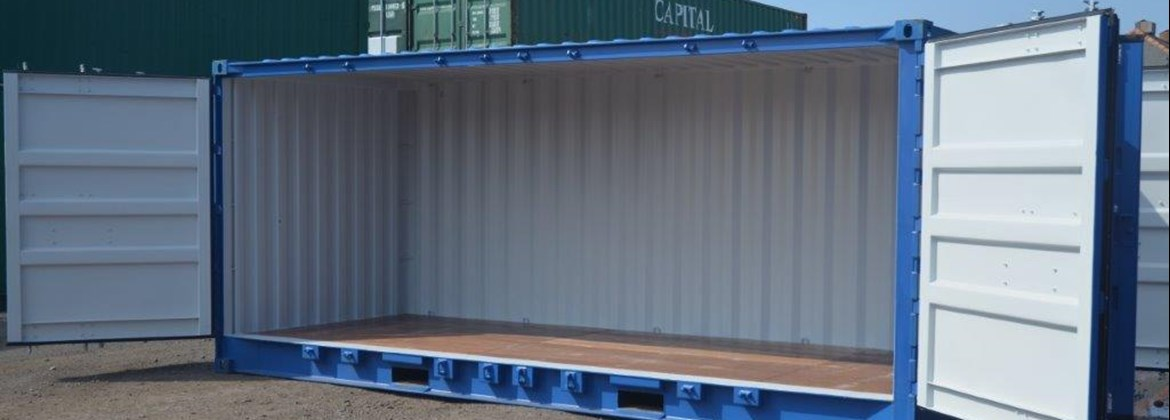 20' NEWBUILD FULL SIDE ACCESS CONTAINER