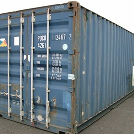 40' Used Container