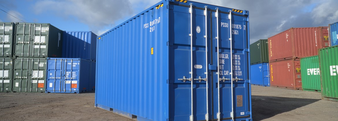 NEW HI-CUBE CONTAINER BANNER
