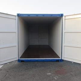 20' Newbuild Double Door Container