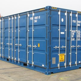 20' Newbuild Hi-Cube Full Side Access Container