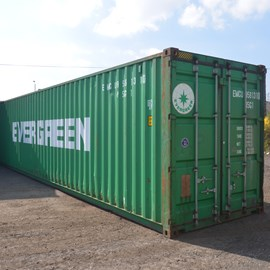 40' Used Hi-Cube Container