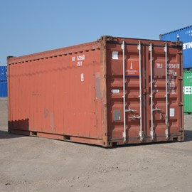 20' Used Open Top Container