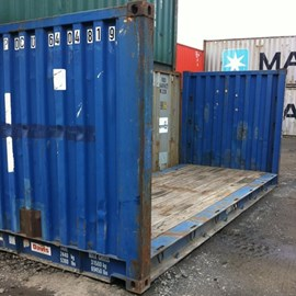 used flat rack containers used flat racks container sales uk. Black Bedroom Furniture Sets. Home Design Ideas
