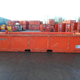 20' Used DNV 2.7-1 Half Height Offshore Container