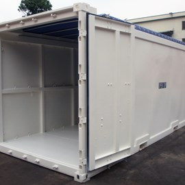 20' Newbuild DNV 2.7-1 Open Top Offshore Container